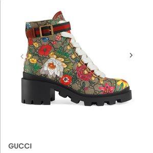 Gucci Flora Boots